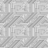 Computer circuit board seamless pattern Royalty Free Stock Images