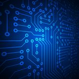Computer circuit board. Stock Images