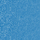 Computer circuit board Royalty Free Stock Image