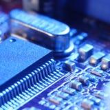 Computer circuit card stock photo