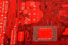 Computer circuit motherboard stock photography