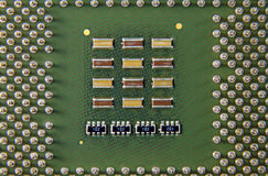 Computer Circuit Processor Royalty Free Stock Image