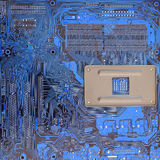 Computer circuit technology background Stock Photography