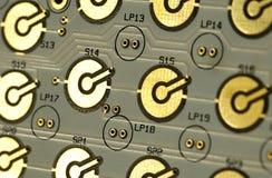 Computer circuitboard Royalty Free Stock Photos