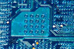Computer circuitboards Royalty Free Stock Photos