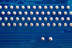 Computer circuitboards Stock Image