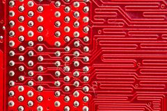 Computer circuitboards Royalty Free Stock Images