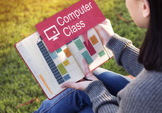 Computer Class Network Science Electronic Device Concept Royalty Free Stock Photos