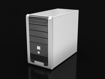 Computer (clipping path included) Royalty Free Stock Images