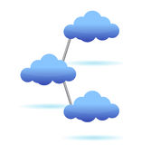 Computer cloud design Royalty Free Stock Image