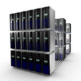 Computer cluster Stock Images