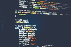 Computer code Royalty Free Stock Photography