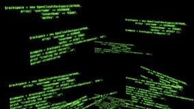 Computer Code stock video