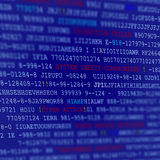 Computer Code Script Background stock images