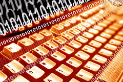 Computer codes Stock Photography