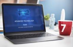 Computer Coding Code Advanced Technology Concept Stock Photos