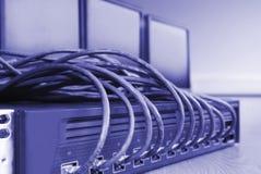 Computer communication Stock Image