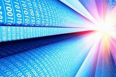 Computer communication technology background stock image