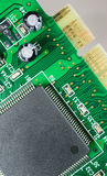 Computer Component Circuit Board Memory Processor Networking Card Royalty Free Stock Photo
