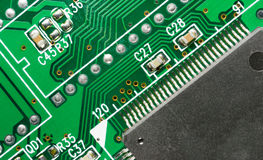 Computer Component Circuit Board Memory Processor Networking Stock Photos