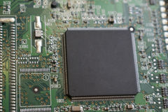 Computer component stock image