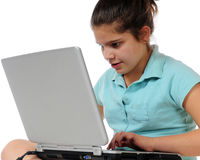 Computer Concentration Stock Photography