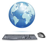 Global Computing Concept Royalty Free Stock Images