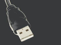Computer connection cables Stock Images