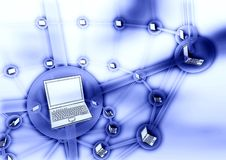 Computer Connection Concept Royalty Free Stock Images