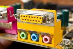 Computer connector Stock Photo