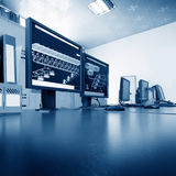 Computer control room Stock Photography
