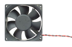Computer cooler fan Stock Images