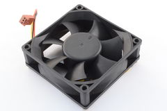 Computer cooler fan Royalty Free Stock Images
