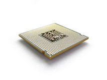 Computer CPU Royalty Free Stock Photos