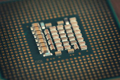 Computer CPU Chip Stock Images