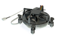 Computer cpu cooler Royalty Free Stock Photo