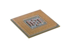 Computer CPU getrennt Lizenzfreie Stockbilder