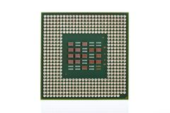 Computer CPU isolated on white background Stock Photo