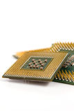 Computer CPU isolated Royalty Free Stock Images