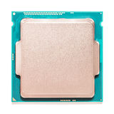 Computer CPU Isolated On White Royalty Free Stock Photos