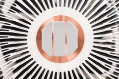 Computer CPU-Kühlkörper und thermische Paste Lizenzfreie Stockfotos
