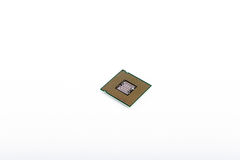 Computer CPU Processor Chips Stock Photography
