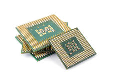 Computer CPU  Royalty Free Stock Photography