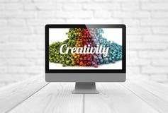 Computer creativity Royalty Free Stock Photos