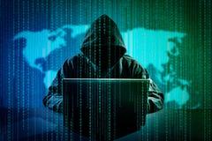 Computer crime concept. Stock Photography