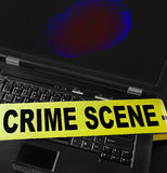 Computer crime Stock Photo