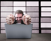 Computer Criminal Stock Photography