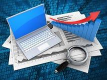 Computer 3d Lizenzfreie Stockbilder