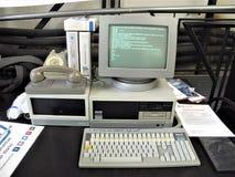 Computer d'annata di Roma fotografie stock