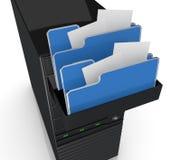 Computer data Stock Photo